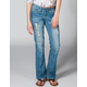 YMI Destructed Womens Bootcut Jeans