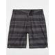 MICROS Rick Stripe Boys Hybrid Shorts
