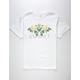 ASPHALT YACHT CLUB White Roses Mens T-Shirt