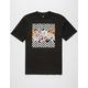 ASPHALT YACHT CLUB Herringbone Floral Mens T-Shirt