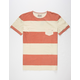 QUIKSILVER Maxed Out Hero Mens Pocket Tee