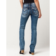 MISS ME Woven Slim Womens Bootcut Jeans