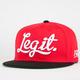 NEFF Legit Mens Snapback Hat