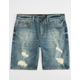 RSQ London Skinny Mens Denim Shorts