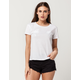 FULL TILT White Palm Womens Tee