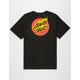 SANTA CRUZ Flaming Dot Mens T-Shirt