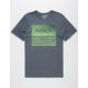 HURLEY Borderline Textstripe Mens T-Shirt