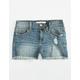 SP BLACK Pocket Bag Destruction Girls Denim Shorts