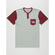RVCA Change Up Boys Pocket Henley