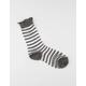 FULL TILT Metallic Stripe Sheer Socks