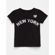 FULL TILT New York Girls Tee