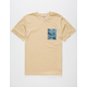 NIXON Eastgate Mens Pocket Tee