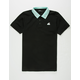 PINK DOLPHIN Wave Stripe Mens Polo Shirt