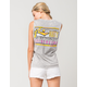 RUSTY Banner Womens Muscle Tank