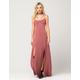 FULL TILT Strappy Slit Maxi Dress