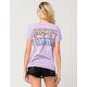 RUSTY Banner Mineral Wash Womens Tee