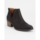QUPID Side Notch Womens Booties