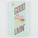 INCIPIO Good Livin' Serires Feather iPhone 4/4S Case