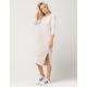 ADIDAS 3 Stripes Midi Dress