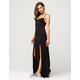 FULL TILT Strappy Slit Maxi Dress