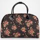 Canvas Floral Duffle Bag
