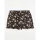 FULL TILT Floral Ruffle Girls Shorts