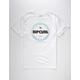 RIP CURL Line Master Mens T-Shirt