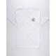 ELECTRIC Volt White Mens T-Shirt