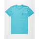 RVCA Fade Mens Pocket Tee