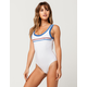 RVCA First Base One Piece Swimsuit