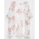 FULL TILT Crochet Floral Girls Kimono