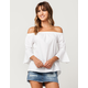 LIVE 4 TRUTH Bell Sleeve Womens Off The Shoulder Top