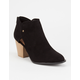 QUPID Perforated Window Womens Booties
