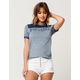 RIP CURL Searching Womens Ringer Tee