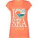 BILLABONG I Heart The Sea Girls Tee