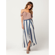 PATRONS OF PEACE Striped Maxi Skirt
