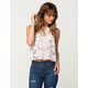 ELODIE Floral Lace Womens Tank