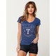 Texas Rangers Womens V-Neck Tee
