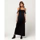 DEE ELLY Smock Cold Shoulder Maxi Dress