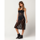 H.I.P. Sheer Lace Slip Dress