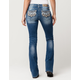 MISS ME Feather Falls Womens Bootcut Jeans