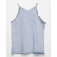 FULL TILT Mineral Wash Crochet Girls Tank