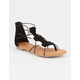 SODA Bungee Cord Girls Gladiator Sandals