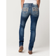 MISS ME Tribal Vixen Womens Straight Cut Jeans