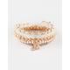 FULL TILT 5 Pack Pineapple/Hamsa Bracelets