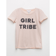 IVY & MAIN Girl Tribe Oversized Girls Tee
