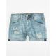 VANILLA STAR PREMIUM Rip & Repair Girls Denim Shorts