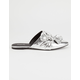 QUPID Side Knot Womens Mules
