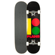 PLAN B Team B Rasta Full Complete Skateboard- AS IS