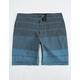 NITROUS BLACK Panchos Mens Hybrid Shorts